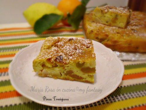 PINZA TREVIGIANA, ricetta dolce della Befana