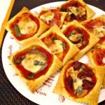 pizzette my fantasy ricetta super veloce di pasta sfoglia
