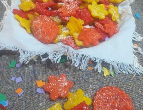 Coriandoli fritti di carnevale