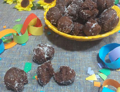 Castagnole al cacao