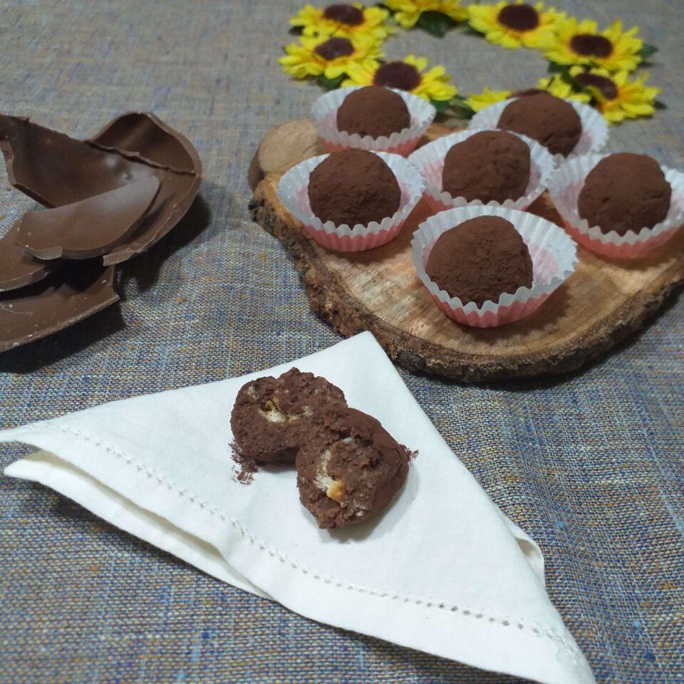 tartufini al cioccolato