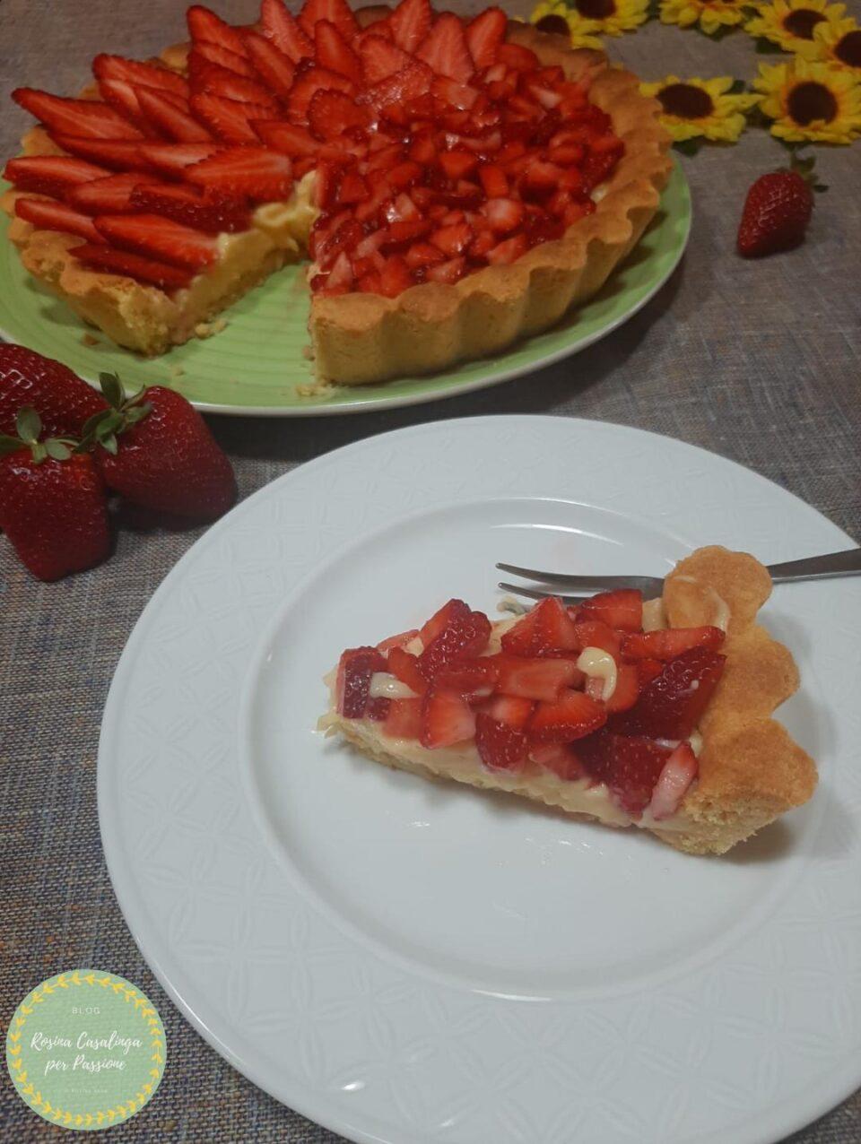crostataalle fragole