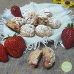 Biscotti morbidi alle fragole
