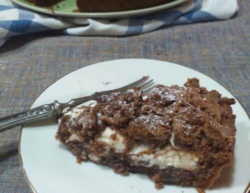 Sbriciolona al cacao con crema paradiso e NUTELLA
