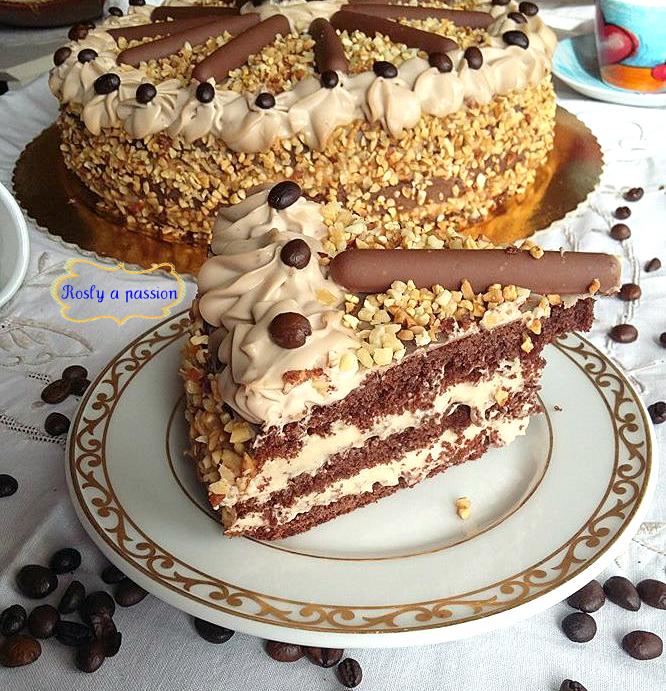 Torta al caffè e mascarpone   Rosly a passion for pastry