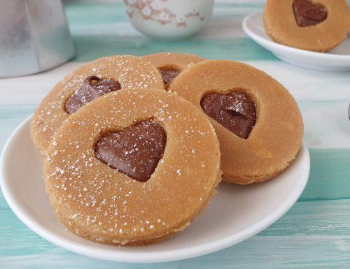 Biscotti occhio di bue senza cottura