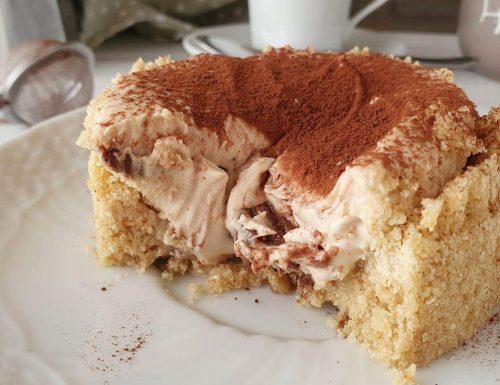 Mini tortina alla crema di caffè e cioccolato bianco