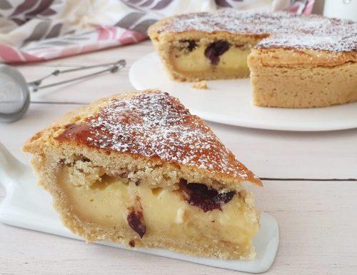 Torta pasticciotto crema e amarene