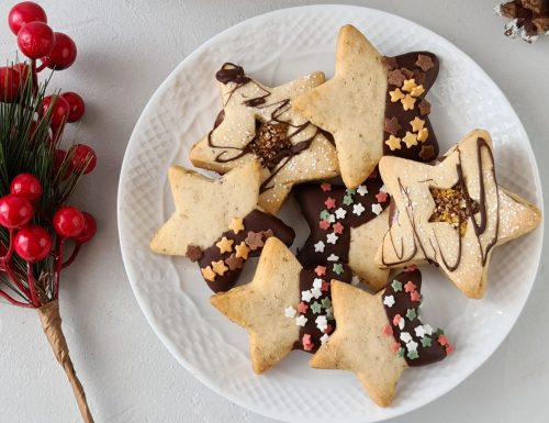 Biscotti sablè natalizi