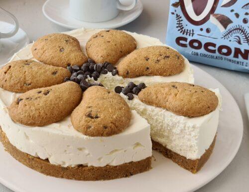 Gocciole cheesecake al cocco