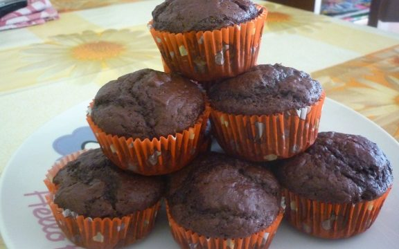 Muffin ciocco yogurt