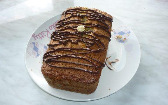 Plum cake menta e cioccolato
