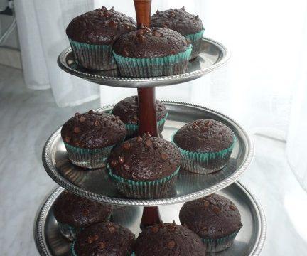 American muffin al cacao