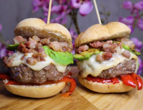 Hamburger di carne (senza glutine).