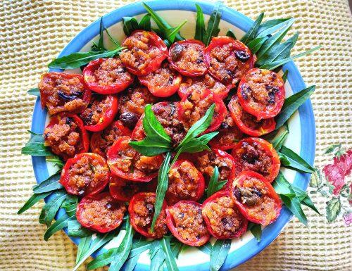 Pomodori ripieni (senza glutine).