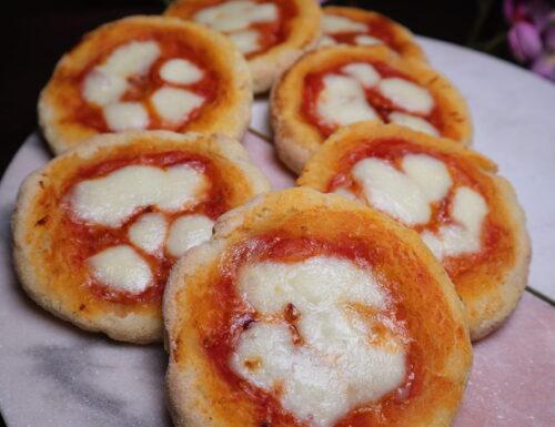 Pizzette senza glutine.
