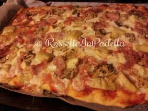 Pizza ricetta base Pizza Capricciosa