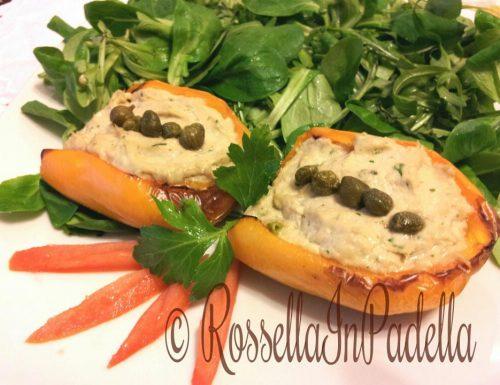 Peperoni al forno con mousse di tonno / facile estiva