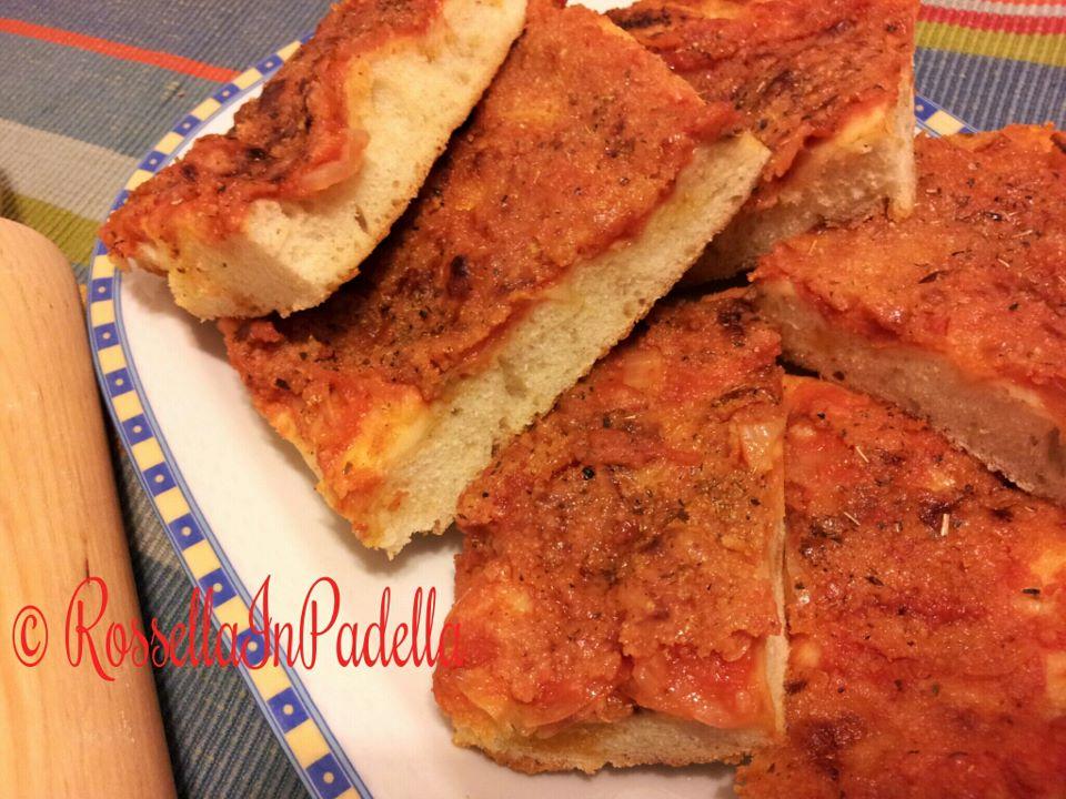 Pizza palermitana o Sfincione siciliano2