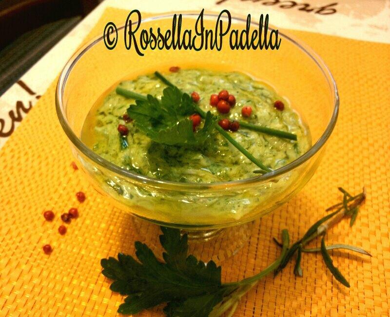 salsa senape per cotture al forno o pinzimonio