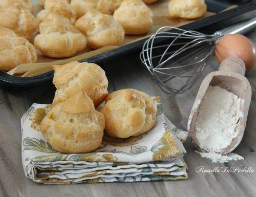 Pasta choux per bignè