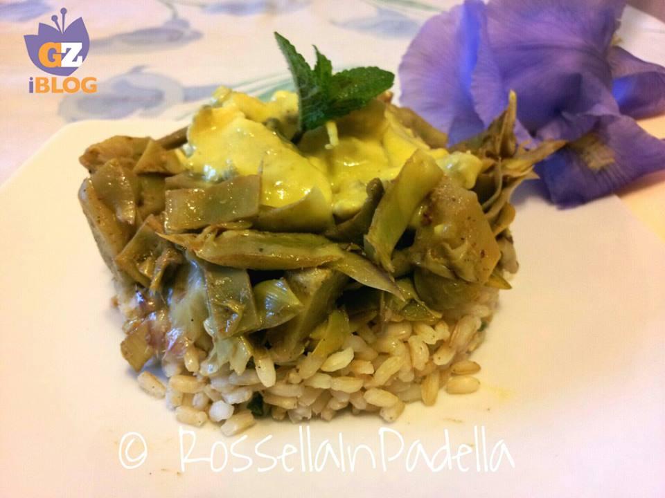 Pollo all curry con carciofi teneri e riso integrale2GZ
