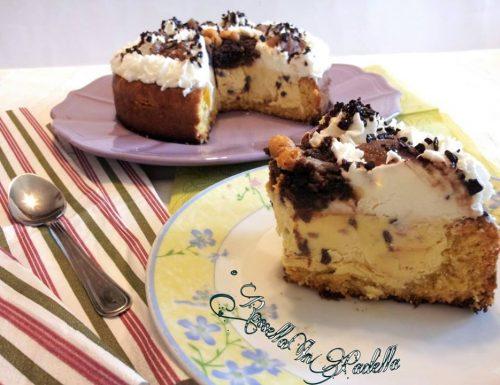 Torta-semifredda al mascarpone e marrons glaces
