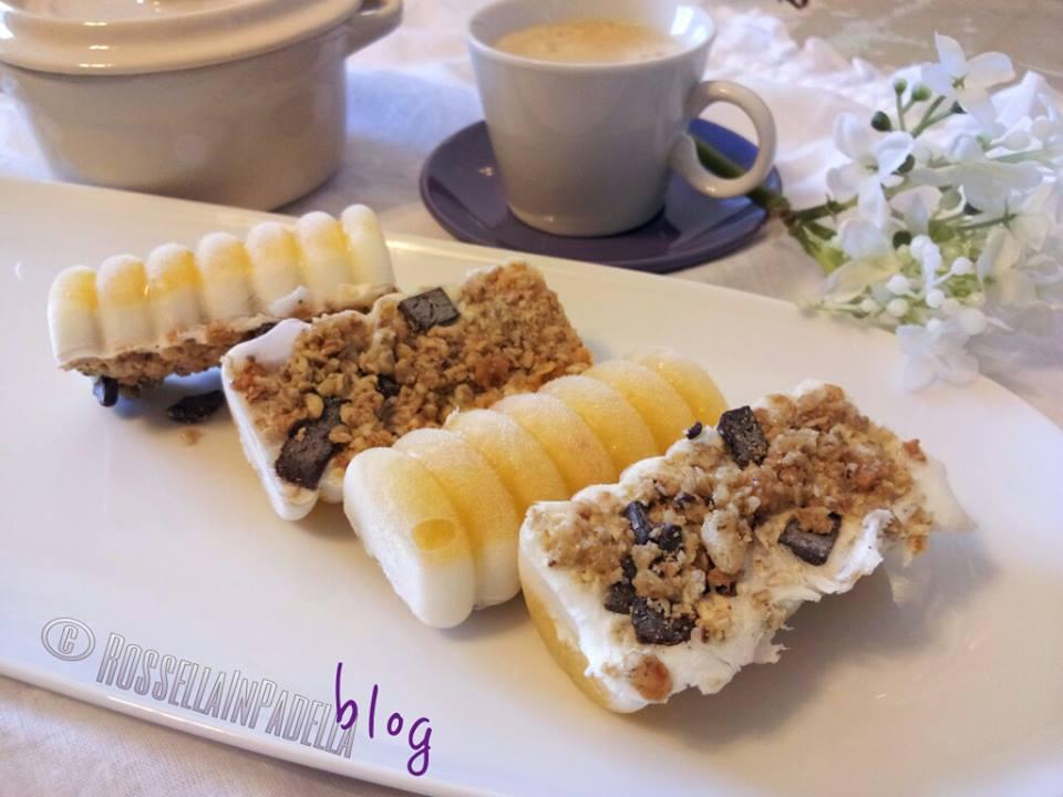 abbastanza Barrette fredde frutta, cereali e yogurt   Rossella In Padella ZY17