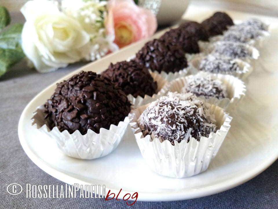Brigadeiro, palline di cioccolato