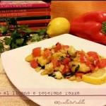 Pollo al limone e peperone rosso