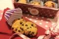 Biscotti senza burro con farina di riso e gocciole di cioccolato