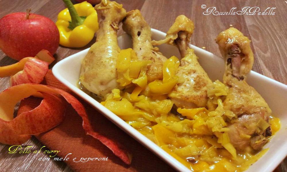 Pollo al curry con mele e peperoni2CAMBIAULT