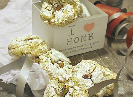 Biscotti senza burro al pistacchio