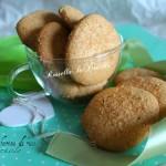 Biscotti senza glutine con farina di riso e nocciole