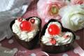 Cestini cuori di cioccolato, evviva l'amore