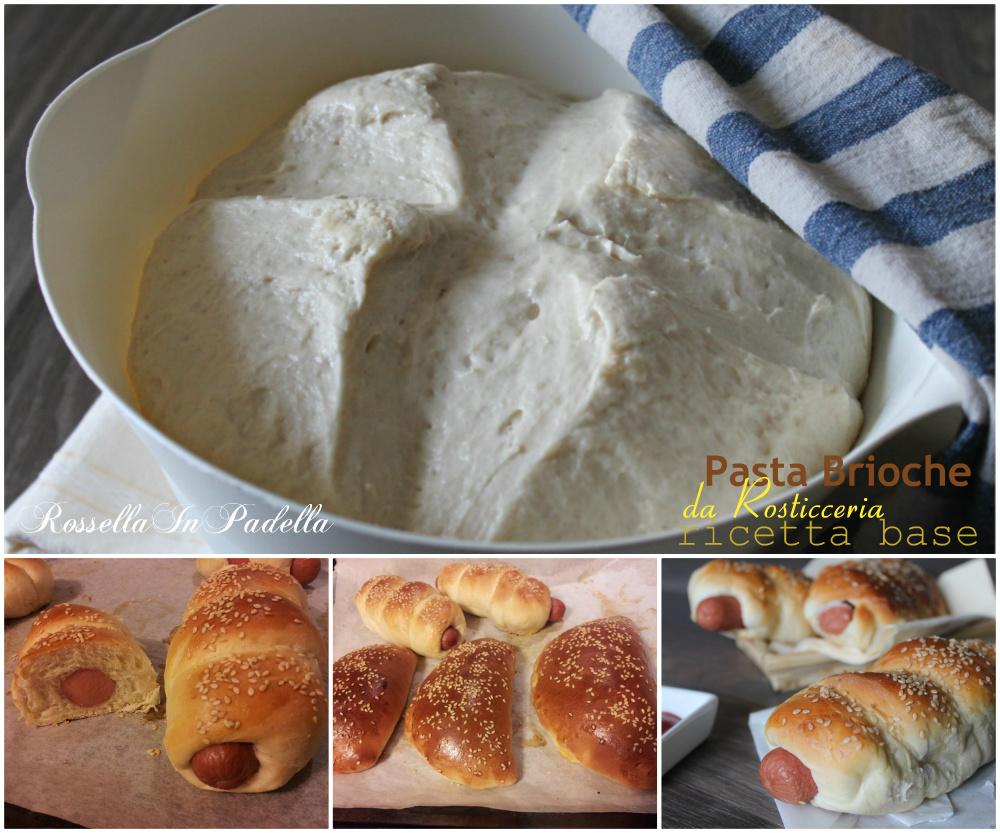 Pasta brioche da rosticceria - ricetta base | RossellaInPadella