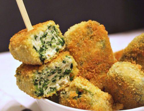 Crocchette di pollo e spinaci – cena o snack?