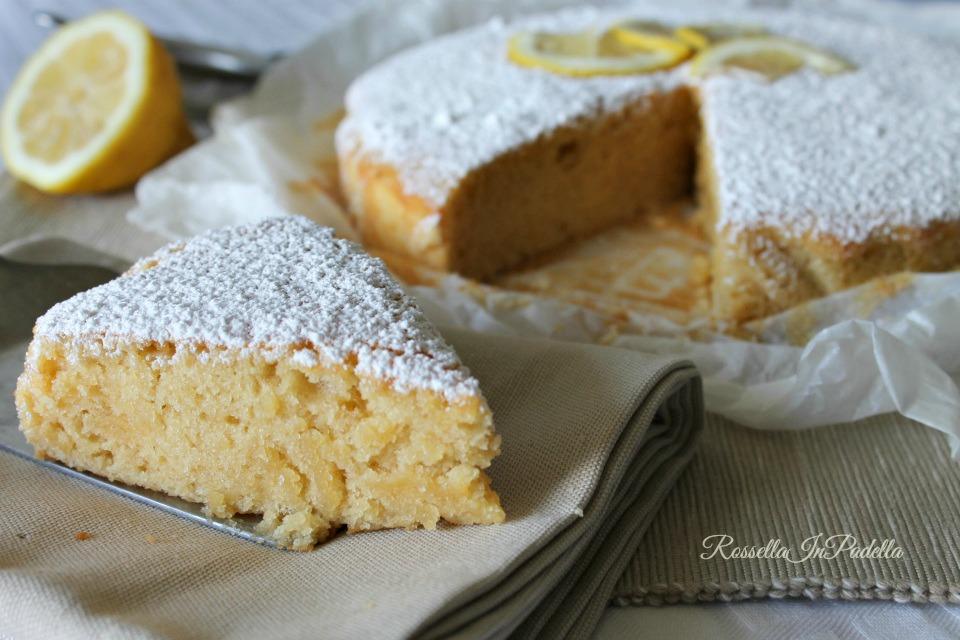 Torta Al Limone Light Senza Uova E Burro Rossellainpadella