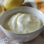 Crema a freddo al limone, senza uova nè cottura