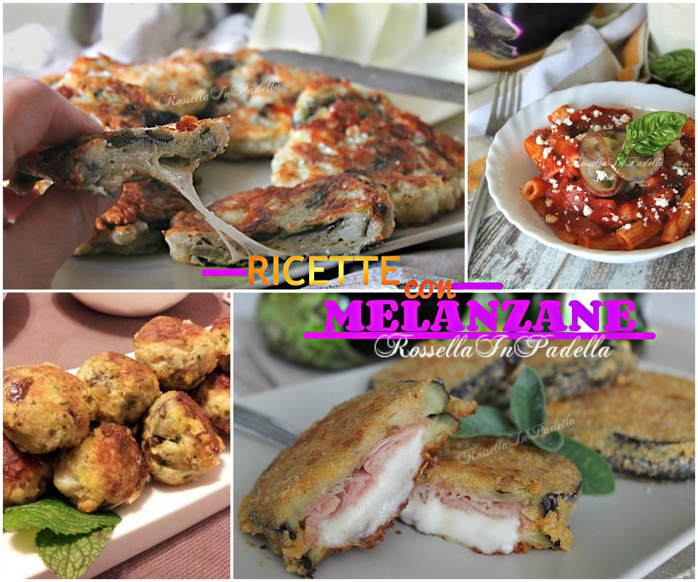 Ricette con melanzane ricette di stagione rossella in for Melanzane ricette