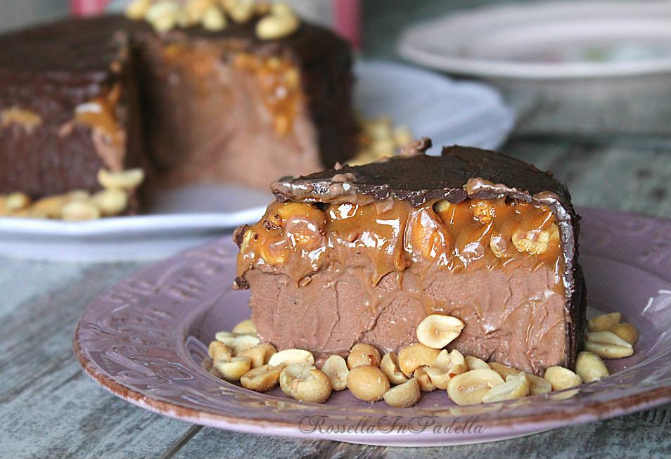 Ben noto Torta snickers, golosa torta fredda senza cottura|RossellaInPadella MA43