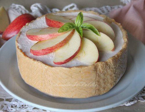 Torta di mele fredda