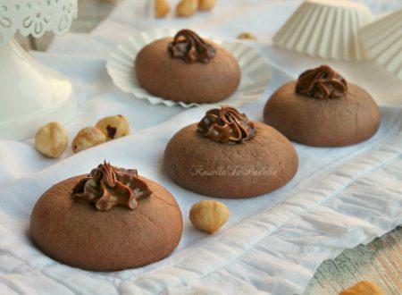 Nutellotti biscotti morbidi alla nutella