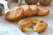 Medaglioni di patate farciti con prosciutto e fontina