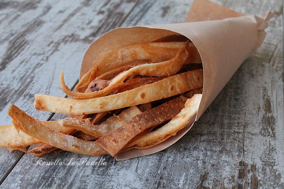 Piadine fritte, ottime per l'aperitivo
