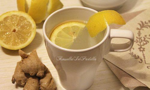 Acqua zenzero e limone, depurativo naturale