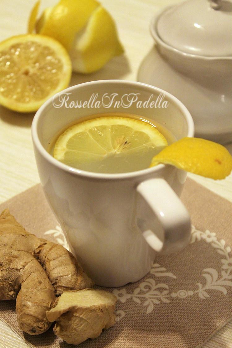 Acqua zenzero e limone, digestivo naturale