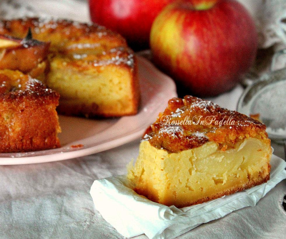 Torta di mele veloce nel frullatore rossella in padella - Immagini stampabili di mele ...