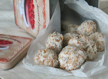 Dolcetti al cocco e cornflakes