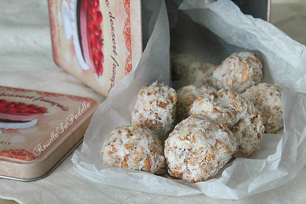 biscotti cocco e cornflakes